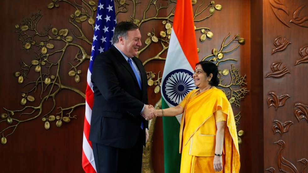 U.S., India seek to deepen political & security ties, sign COMCASA agreement