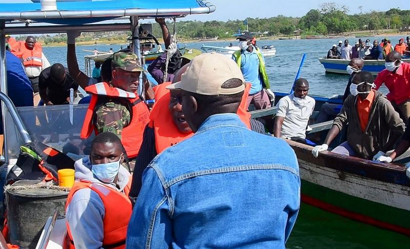 Survivor pulled from capsized Tanzanian ferry as death toll reaches 183