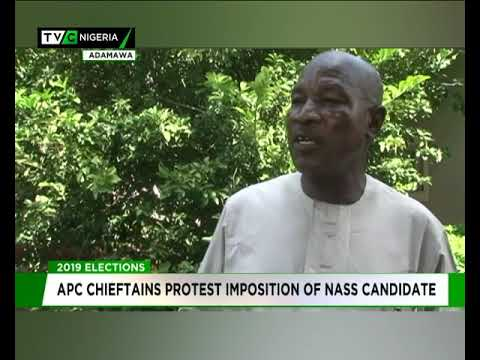 Adamawa APC chieftains protest imposition of NASS candidate