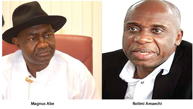 Rivers APC rejects sack, Magnus Abe hails court ruling