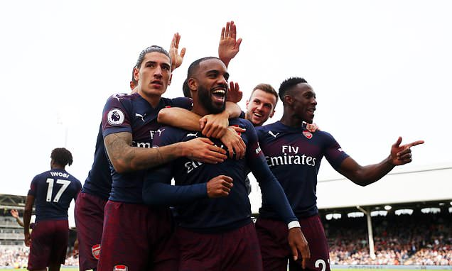 Stylish Arsenal trash Fulham, move into top 4