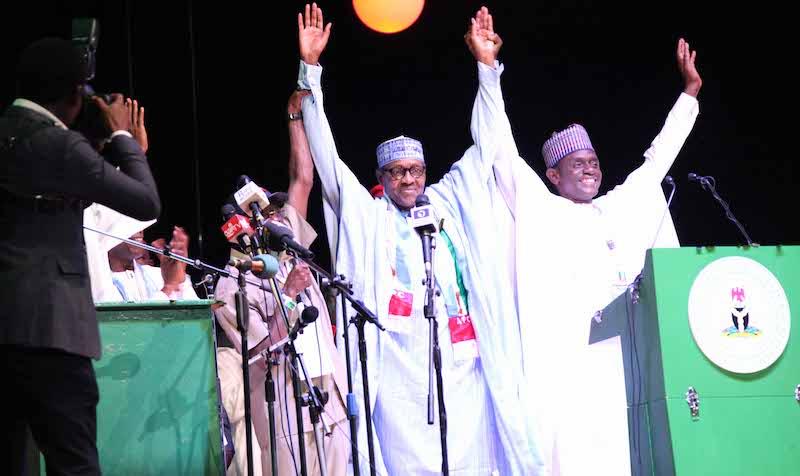 APC affirms Buhari as presidential flagbearer