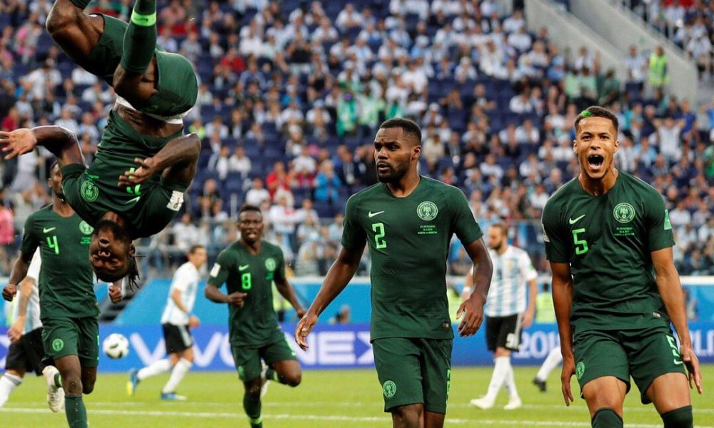 AFCON qualifier: Super Eagles beat Libya, top Group E