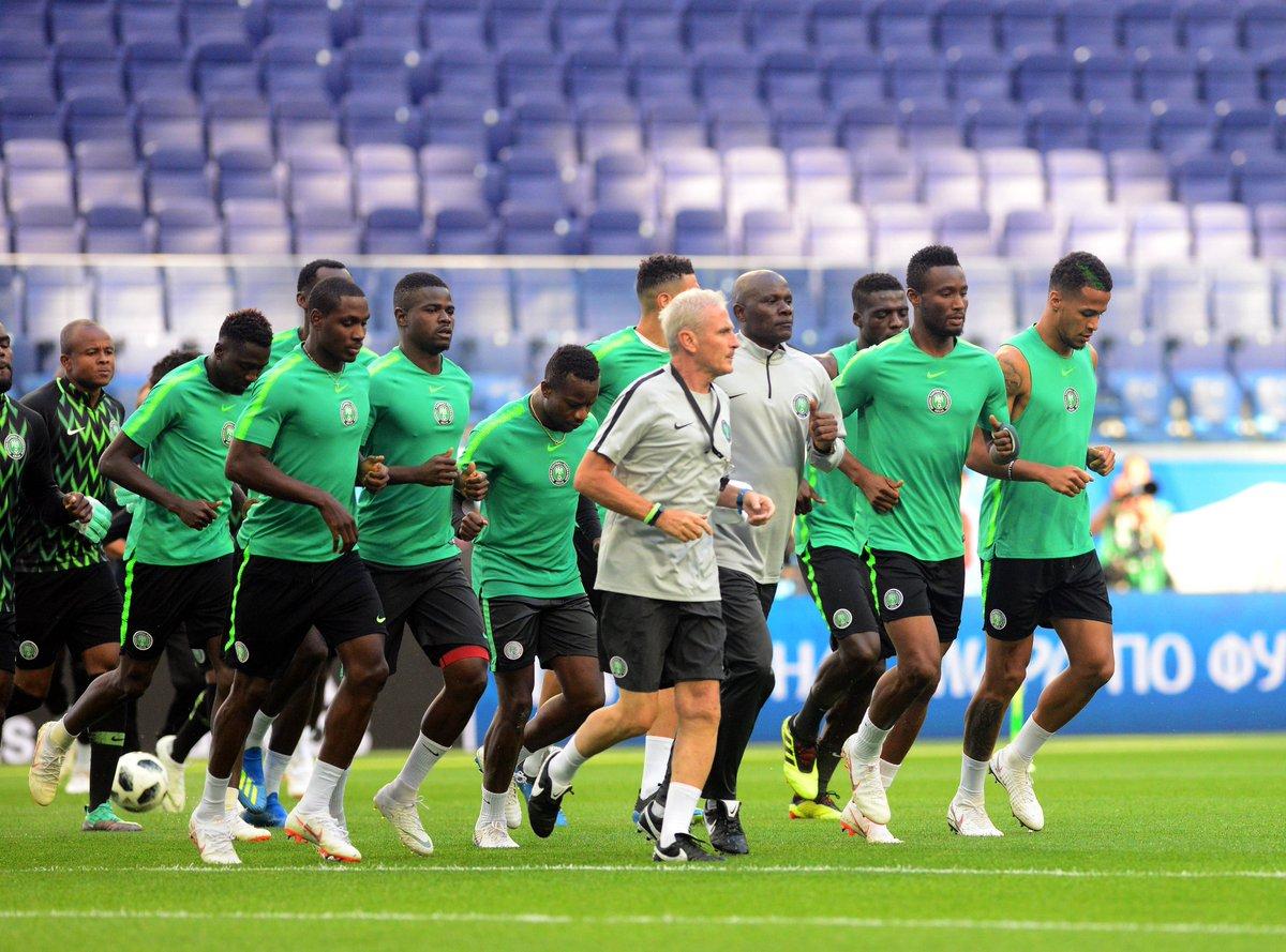 Qualifier: Super Eagles train ahead  Libya return match