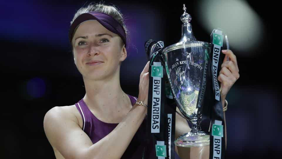 Elina Svitolina claims career's biggest tittle in WTA finals