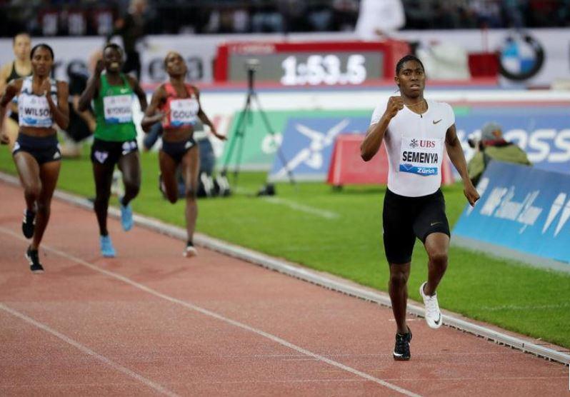 Athletics-IAAF delays imposing gender rule due to Semenya challenge