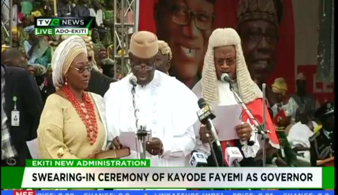 Fayemi sworn-in as Ekiti governor for second term