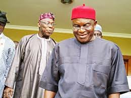 David Mark meets Obasanjo, preaches unity, national interest