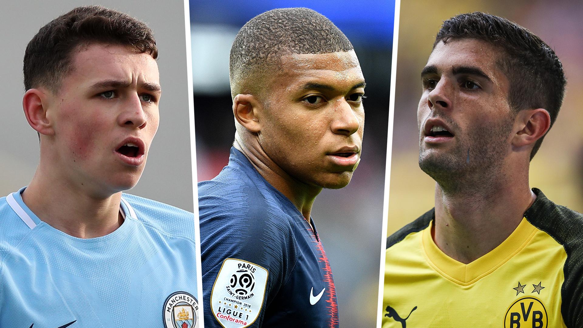 Golden boy awards: Mbappe, Foden, Alexander-Arnold on 40-man shortlist