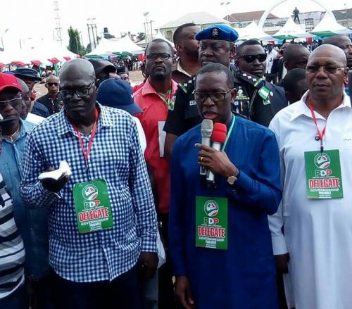 Okowa secures PDP governorship ticket with 3,252 votes