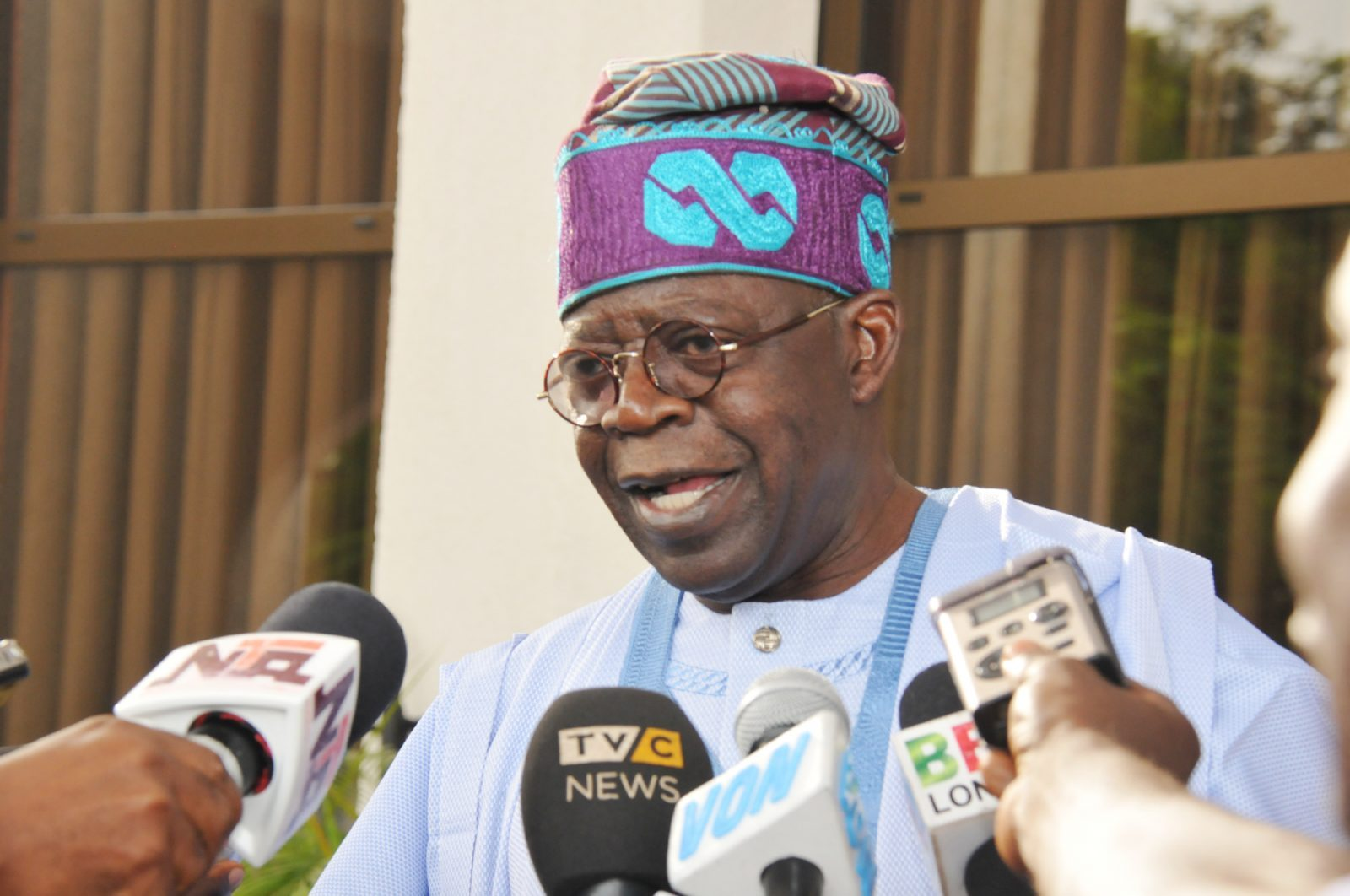 Primaries: Tinubu commends APC members for peaceful conduct