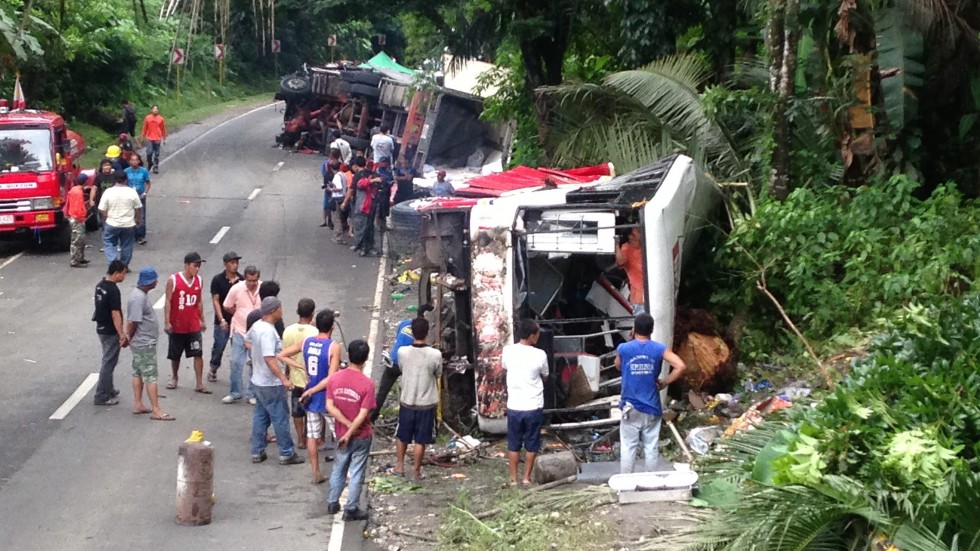Southern Philippines: 11 reportedly killed in road accident