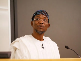 Aregbesola thanks Osun residents, seeks support for Oyetola