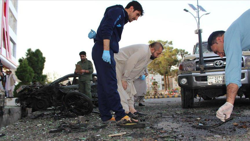 Afghanistan attack: 5 killed, 12 injured in bombing