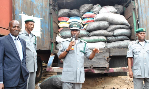 Imo customs warn smugglers to stop endangering the nation's economy
