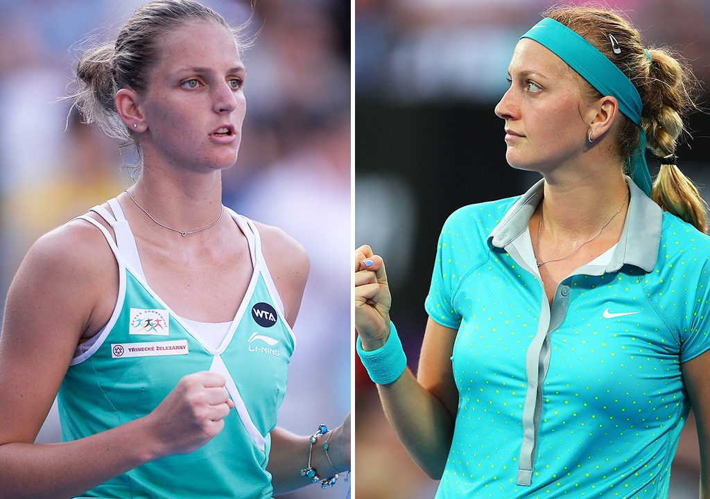 Kvitova, Pliskova to lead Czechs against the U.S in Fed Cup final