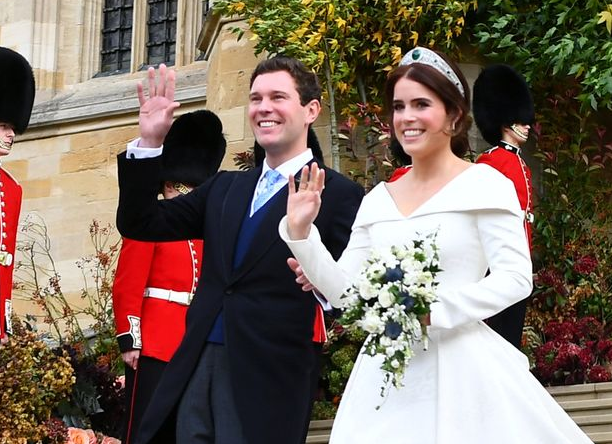 Queen Elizabeth's granddaughter marries in royal style