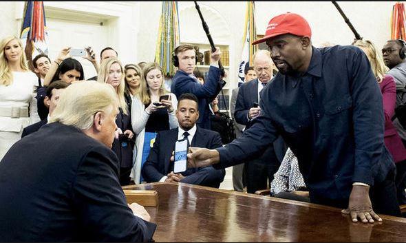 U.S. Rapper Kanye West begins campaign against Democrats