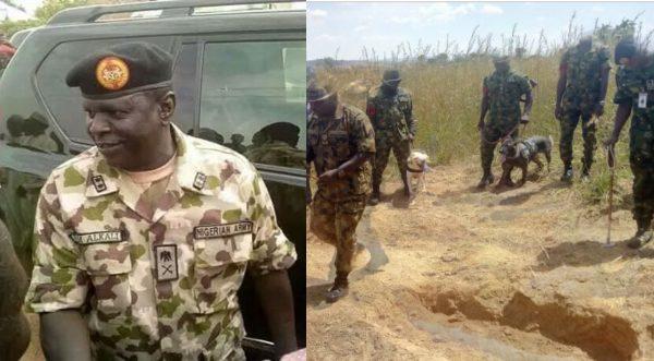 BREAKING: Missing General, Alkali's body found inside an abandoned well