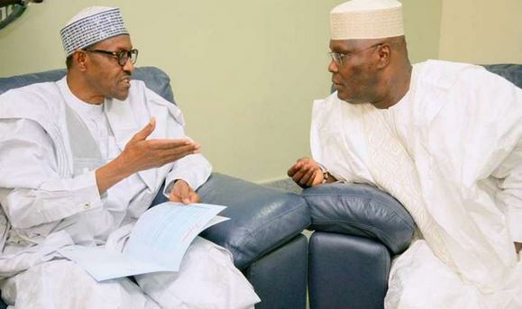 Buhari reacts to emergence of Atiku as PDP Presidential candidate