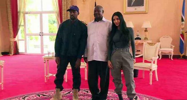 Kanye West, Kim Kardashian get Ugandan names