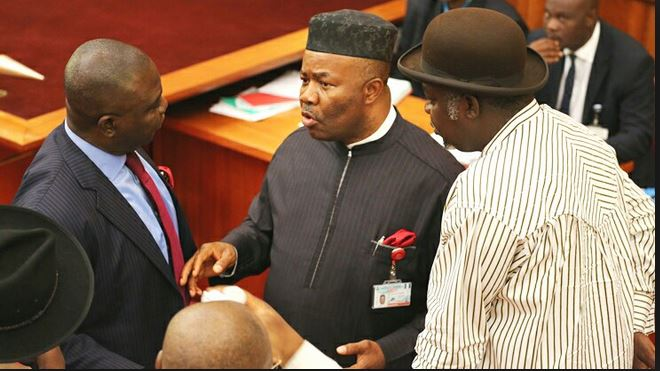 Senate in rowdy session over sitting arrangement