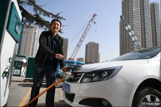 Sales of electric vehicles jump 81 % in China