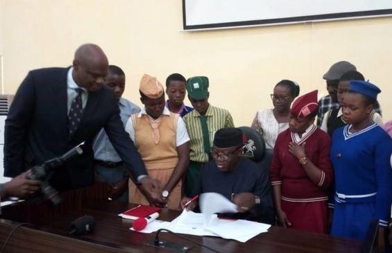 Governor Fayemi scraps education levy in Ekiti schools