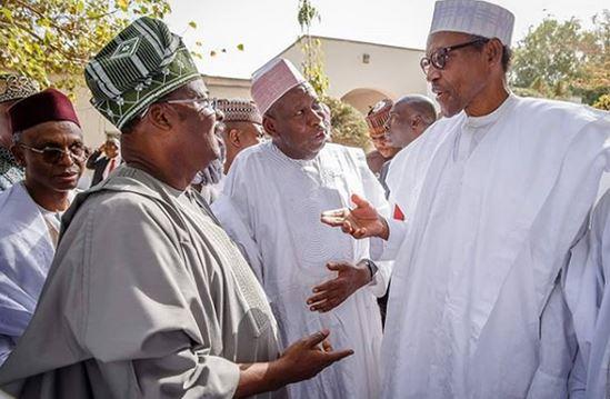 President Buhari meets APC governors