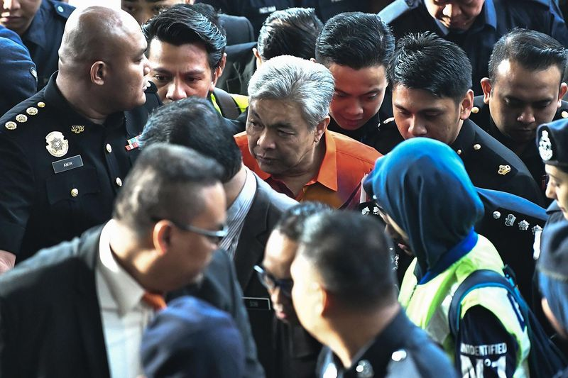 Ex-deputy Malaysian PM charged with corruption and money laundering