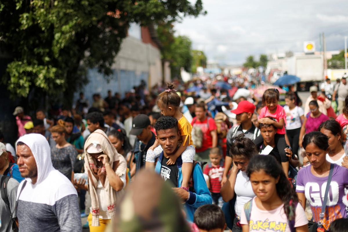 Honduras/Guatemala act to stop migrants after Trump threats