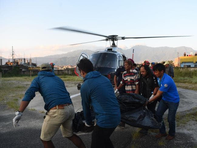 Climbing accident: 9 bodies recovered from Napal mountain
