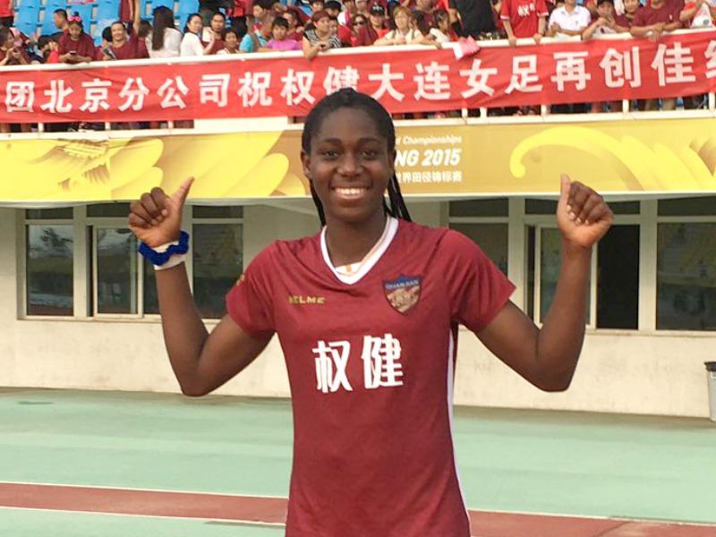 Oshoala wins second title with Dalian Quanjian in Chinese Women's League