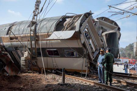 Morocco train crash: 6 killed, 80 injured