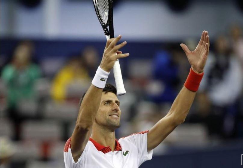 Djokovic dominates Zverev to reach Shanghai Masters final
