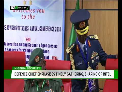 Defence chief emphasises timely gathering, sharing of intelligence