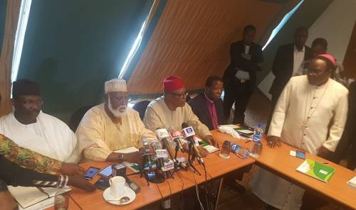 2019 elections: Abdulsalami-led Peace Committee meets  INEC