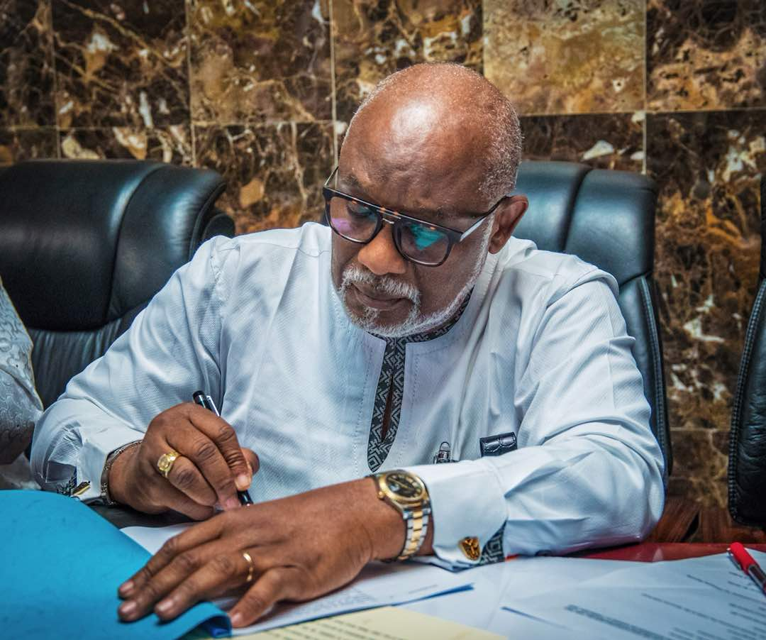Court affirms jurisdiction to hear suit against Akeredolu