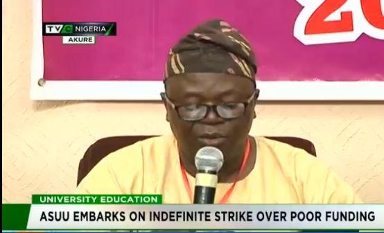 BREAKING: ASUU begins indefinite nationwide strike