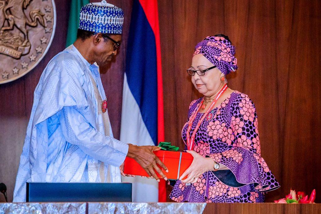 Buhari receives minimum wage Committee report