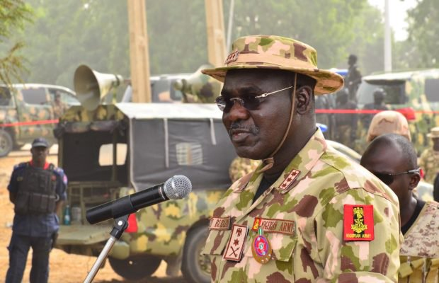 Army chief orders change in Counter-insurgency operation