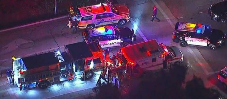 More than six wounded by gunman at California country and western bar