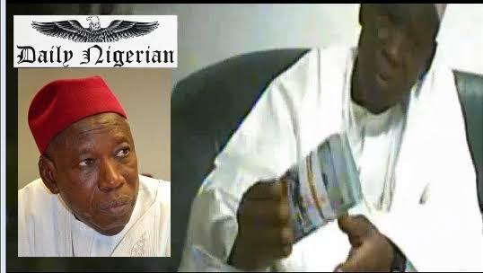 Court restrains Daily Nigerian from publishing Ganduje 'bribery' videos