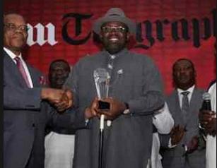 Governor Dickson wins award for Exemplary Leadership