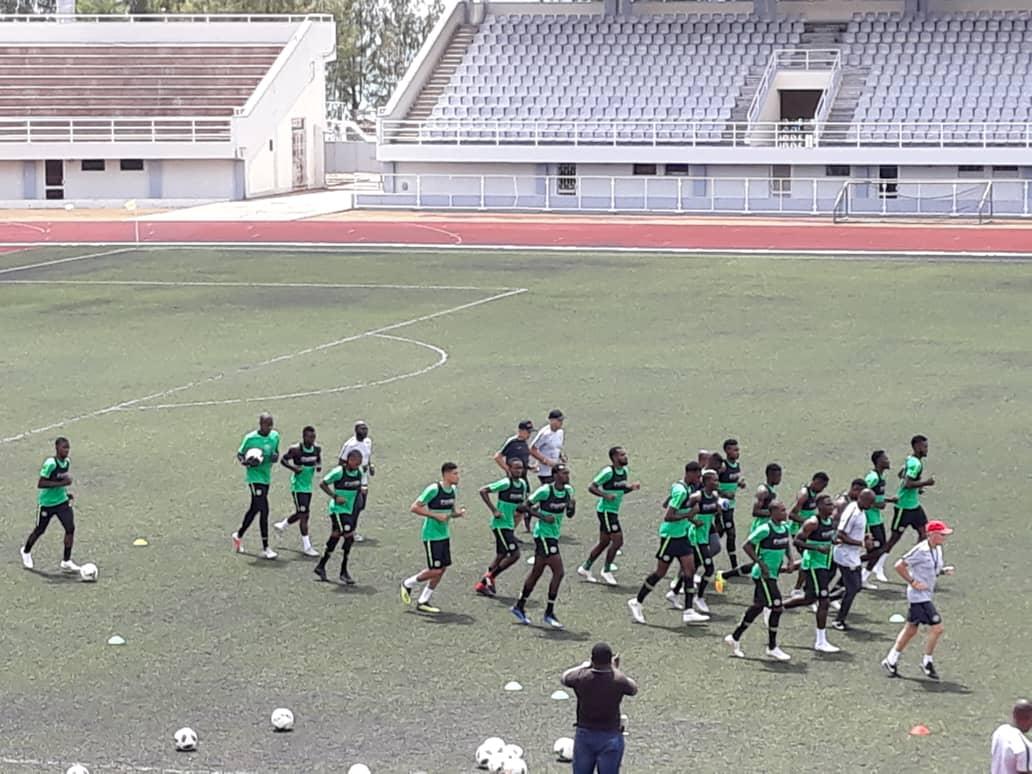 AFCON Qualifier: Eagles begin ahead Bafana clash