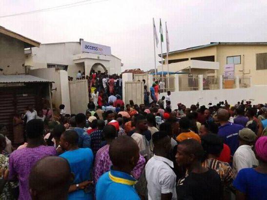 BREAKING: Three killed as armed robbers raid bank in Ekiti