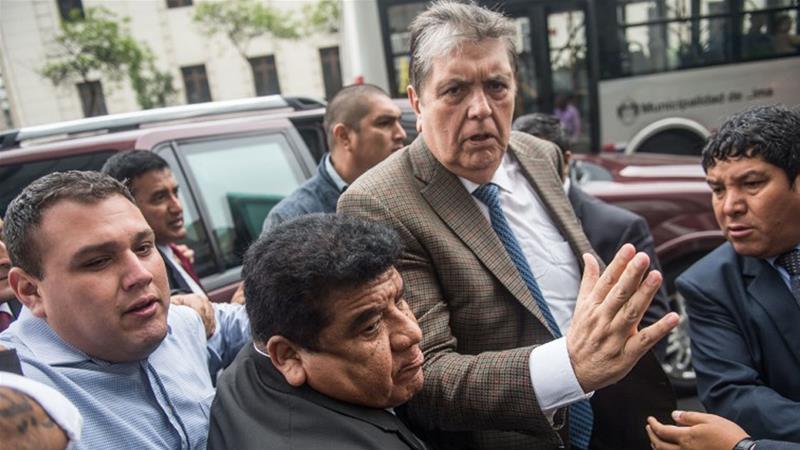 Alleged corruption: Ex-Peruvian President Garcia seeks asylum in Uruguay