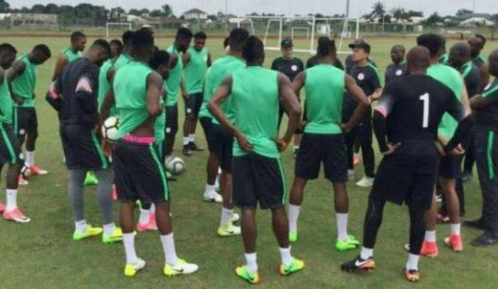 AFCON qualifier: Super eagles to camp in Asaba ahead of match against SA on Saturday
