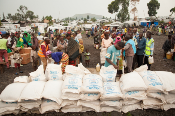 China, Special task force donate relief materials to IDPs