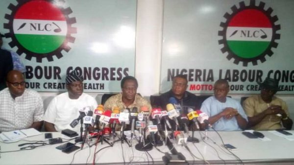 BREAKING: Organised labour suspends planned nationwide strike